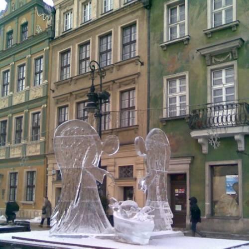 Rzeźby lodowe 2010